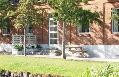 Nyd terrassen ved Vejstrup Forsamlingshus